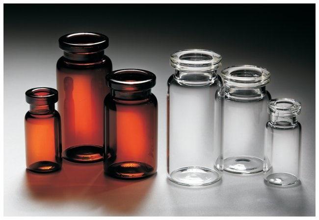 Qorpak Borosilicate Glass Crimp Neck Serum Vials without Caps:Test Tubes,