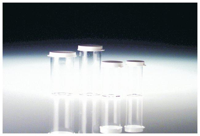 Qorpak Clear Polystyrene Snap Cap Vials:Test Tubes, Vials, Caps and Closures:Vials