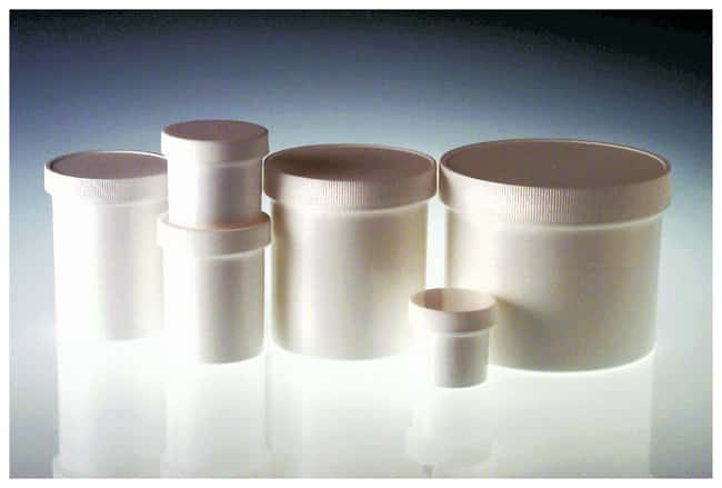 Qorpak&trade;&nbsp;White Polypropylene Jars &mdash; Without Caps&nbsp;<img src=