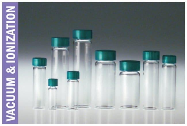 Qorpak&trade;&nbsp;Clear Borosilicate Vials, Vacuum and Ionized&nbsp;<img src=