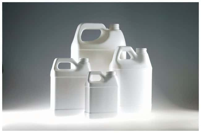 Qorpak™ HDPE F-Style Jugs — Without Cap, White