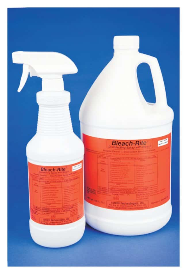 Current Technologies Bleach-Rite Disinfecting Spray with Bleach 16 oz.