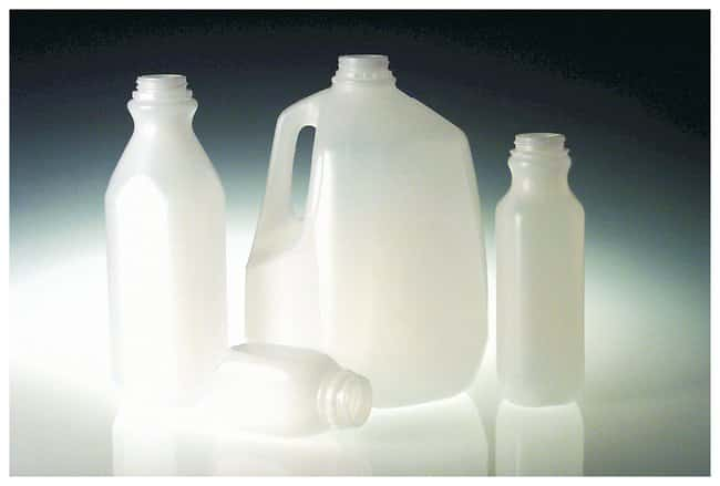 Qorpak&trade;&nbsp;Natural HDPE Lightweight Dairy Jugs&nbsp;<img src=