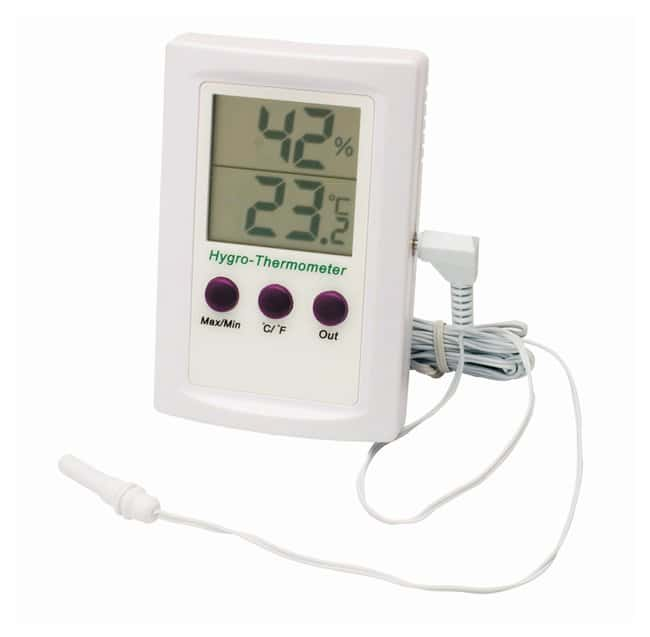 H-B Instrument Durac Electronic Thermometer-Hygrometers No snooze alarm:Thermometers,