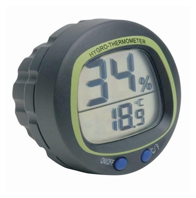 H-B InstrumentDurac Panel Mount Electronic Thermometer-Hygrometer Temp.