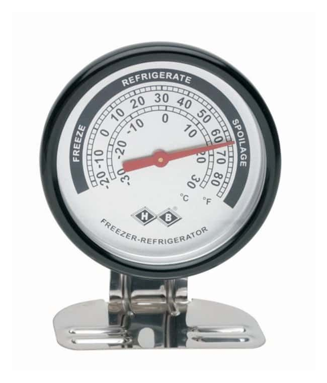H-B Instrument Durac Refrigerator Thermometers Stainless-steel; Range: