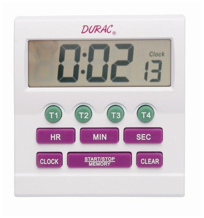 H-B Instrument Durac Timers Digital; Channels: 4; w/Memory, clock, battery,