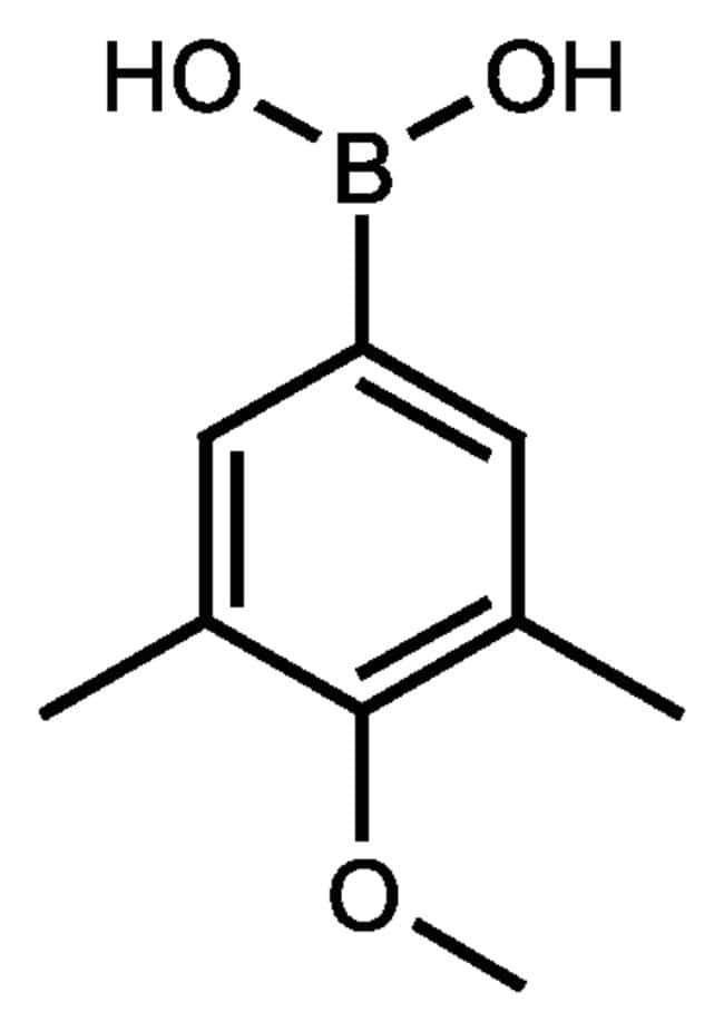 3,5-Dimethyl-4-methoxyphenylboronic acid, 95%, ACROS Organics™ 10g 3,5-Dimethyl-4-methoxyphenylboronic acid, 95%, ACROS Organics™