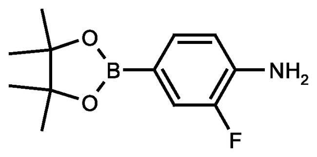 4-Amino-3-fluorophenylboronic acid pinacol ester, 97%, ACROS Organics™