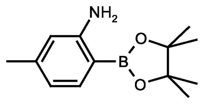2-Amino-4-methylphenylboronic acid pinacol ester, 97%, ACROS Organics™
