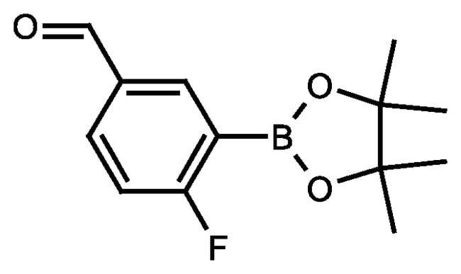 2-Fluoro-5-formylphenylboronic acid pinacol ester, 95%, ACROS Organics™