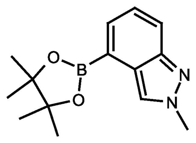 2-Methyl-2H-indazole-4-boronic acid pinacol ester, 97%, ACROS Organics™