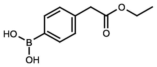 4-[(Ethoxycarbonyl)methyl]phenylboronic acid, 97%, ACROS Organics