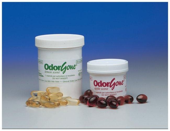 Decon OdorGone Autoclave Deodorizer  Scent: Lemon; 100 Capsules:Gloves,