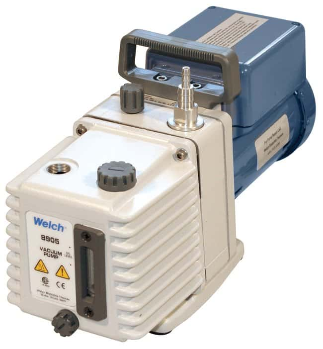 Welch Direct-Drive High-Vacuum Pumps: Model 8905 Model 8905; Free air displacement