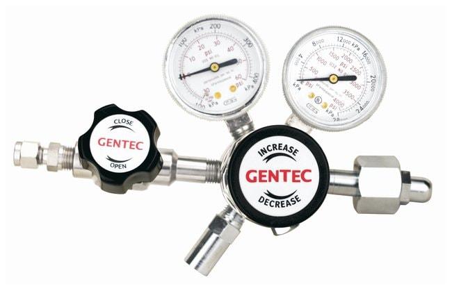 GENTEC R31B Series High Purity Low Flow Gas Regulators Inlet connection: