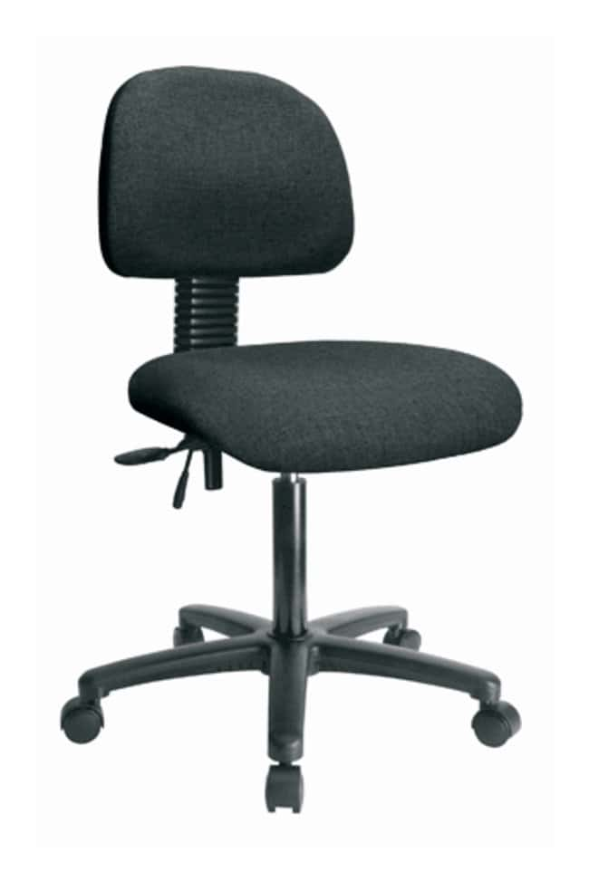 Fisherbrand Fabric Chair - Desk Height with Seat Tilt and Casters in Fabric