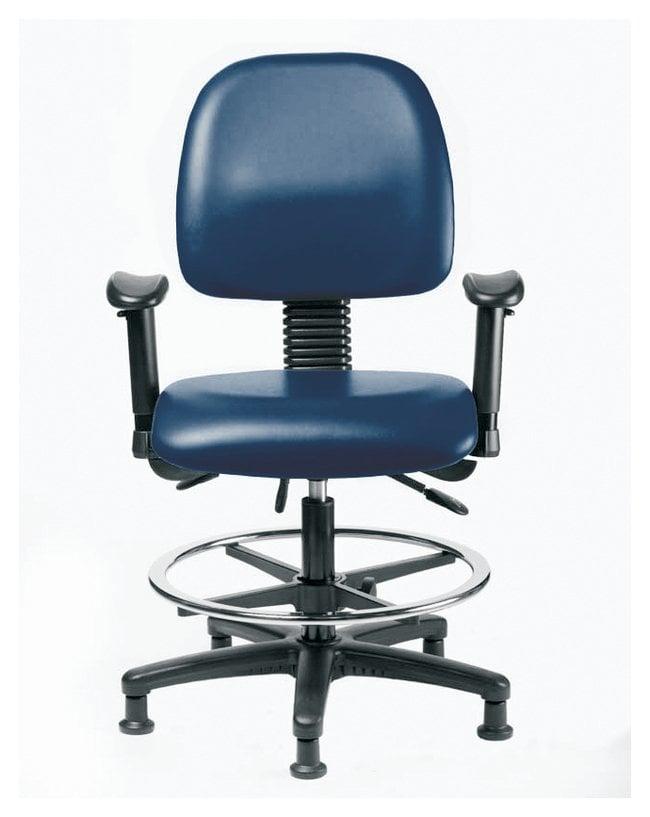 FisherbrandVinyl Chair - Medium Bench Height with Medium Back, Adjustable