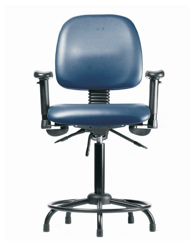 Fisherbrand Vinyl Chair - Medium Bench Height with Round Tube Base, Medium
