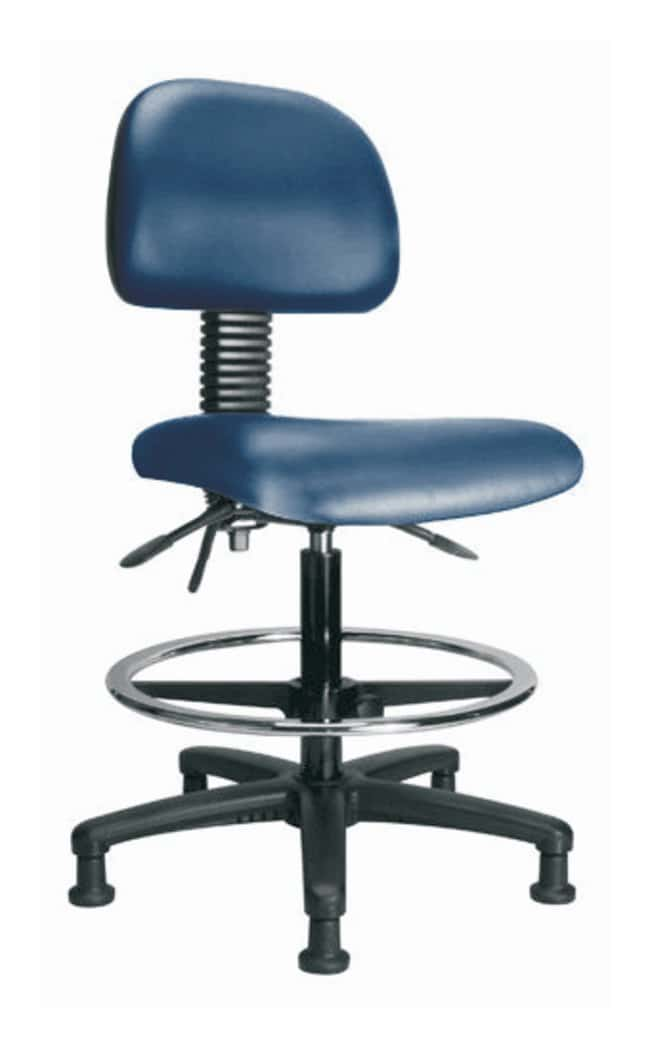 Fisher Science Education Pneumatic Vinyl Chair With Standard Tilt and Stationary