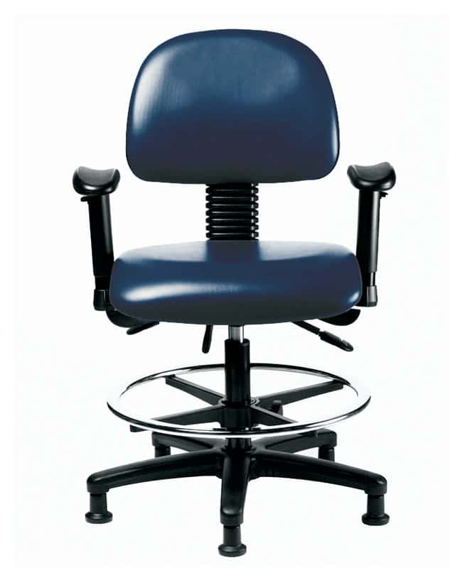 Fisher Science Education Pneumatic Vinyl Chairs with Adjustable Arms, Standard