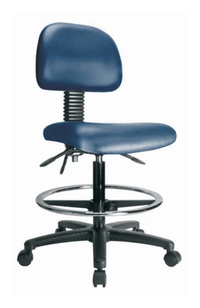 Fisher Science Education Pneumatic Vinyl Chair With Standard Tilt and Casters,
