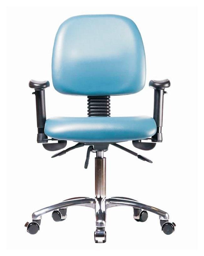 FisherbrandVinyl Chair Chrome - Desk Height with Medium Back, Adjustable