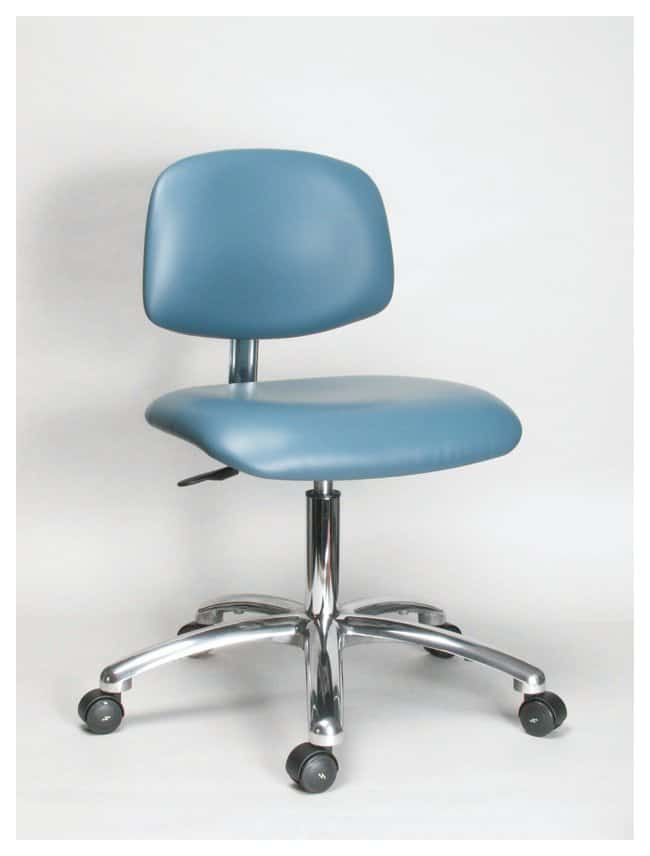 Fisher Science Education Pneumatic Vinyl Class 100 Clean Room Chairs with