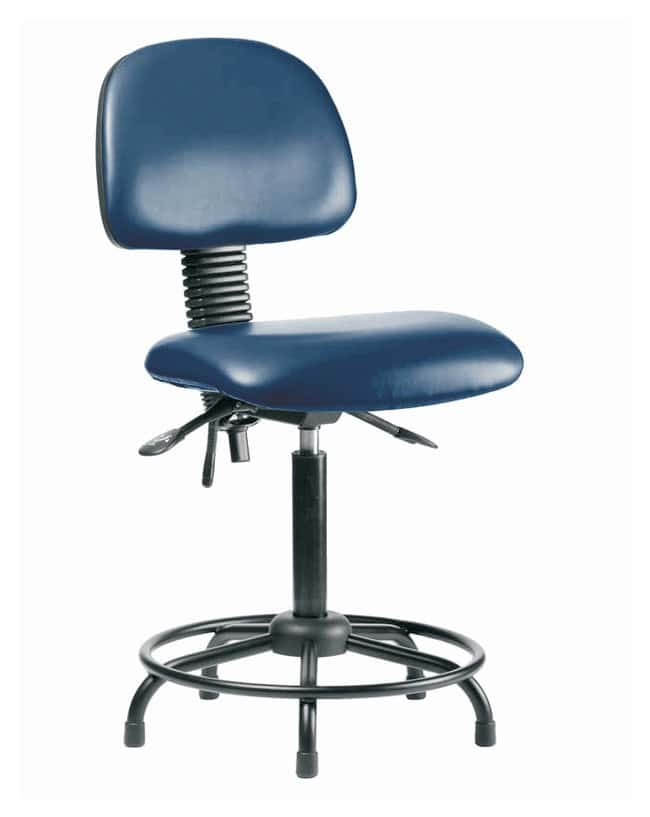 Fisherbrand Low Form Vinyl Chairs with Adjustable Arms Desk Height Round  sc 1 st  Fisher Scientific & Fisherbrand Low Form Vinyl Chairs with Adjustable Arms Desk Height ...