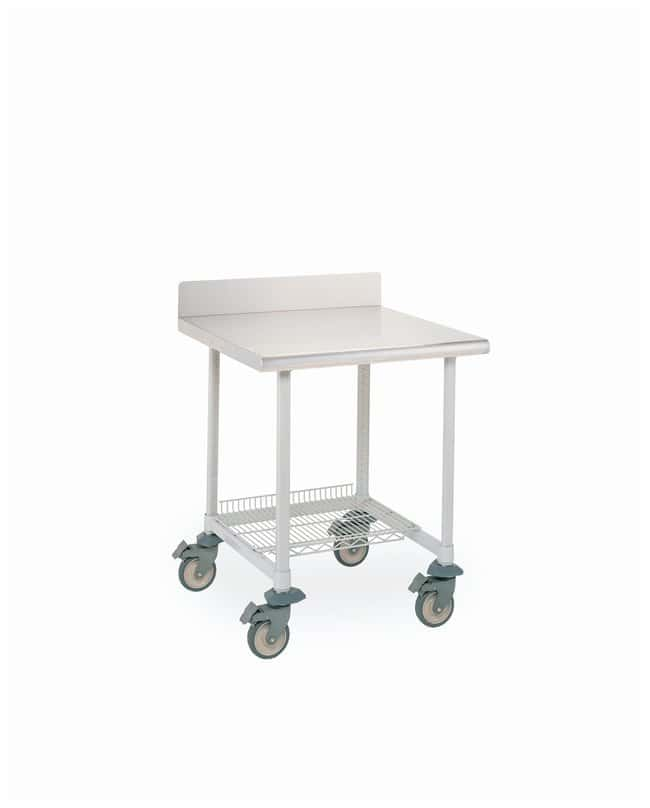 Metro MetroMax i Lab Worktable, Stainless Top and Backsplash with 3-Sided
