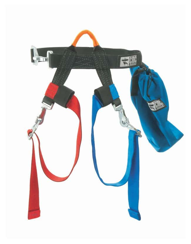CMC Rescue ProSeries Lifesaver Victim Harness Includes wider 2 in. hook