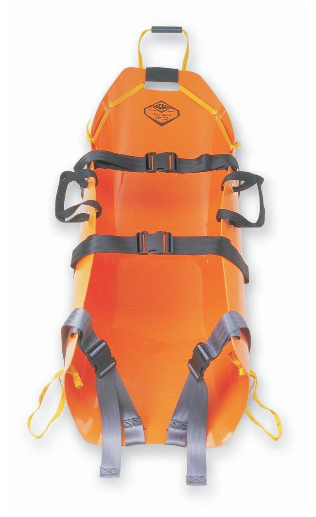 Half-Sked Patient Drag Orange; Wt.: 6 lb. (2.7kg):First Responder Products