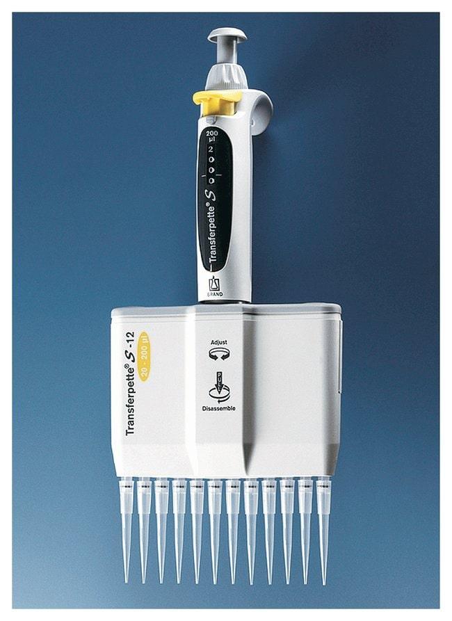 BrandTech Transferpette -8/-12 electronic Multichannel Pipette - TRADE-UP