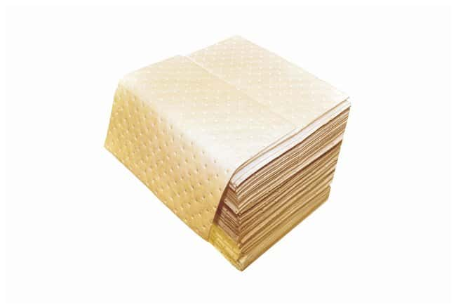 Fisherbrand Hazmat Sorbent Pad Pad; Size: 12 x 12 in.:Gloves, Glasses and