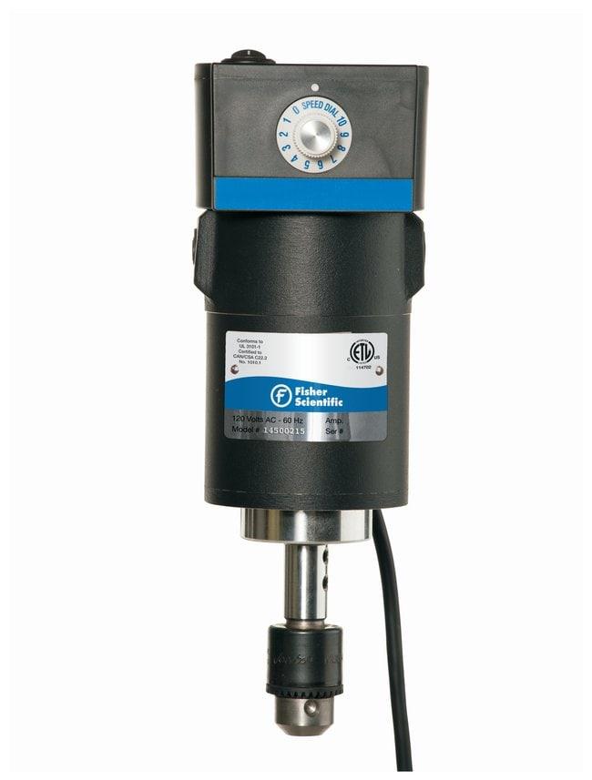 Fisherbrand Electric Analog Laboratory Overhead Stirrers 1/10 hp; Max.