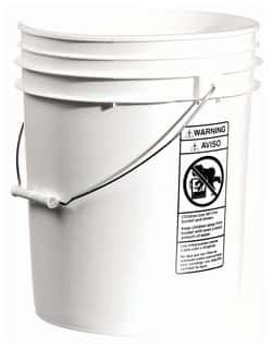 Laboratory Use Buckets and Pails