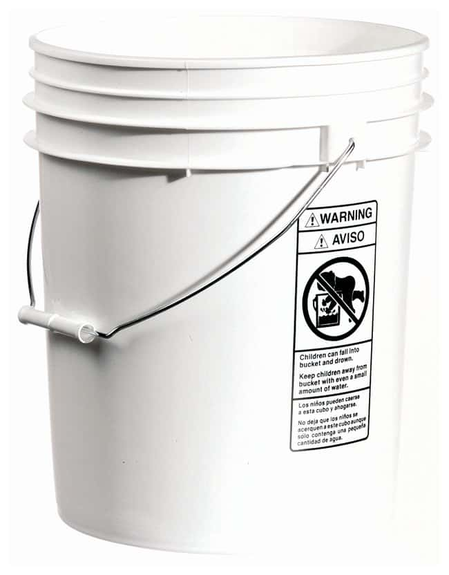 Qorpak HDPE Open Head Pails :Wipes, Towels and Cleaning:Buckets and Pails