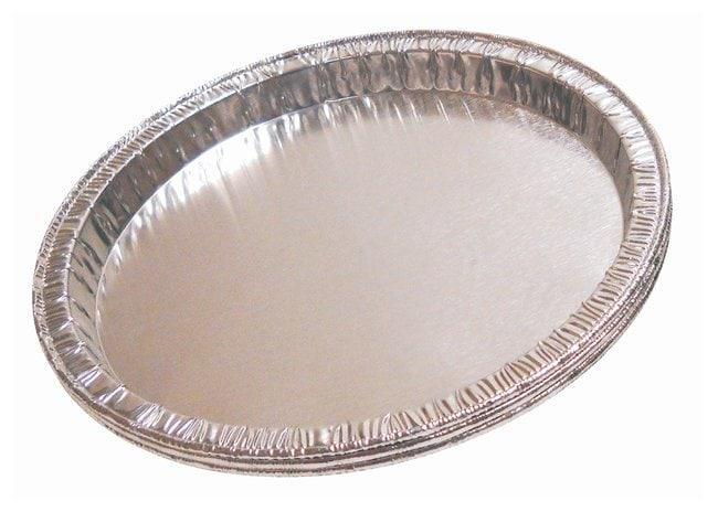 QorpakDisposable Aluminum Moisture Balance Pans Dia.: 5 in. (127mm); Depth: