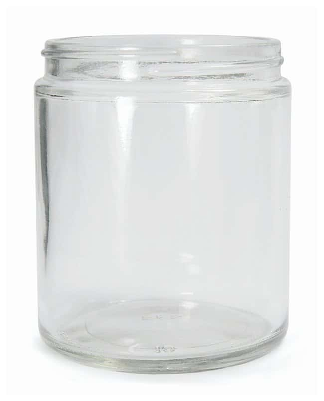 Qorpak™ Clear Straight Sided Round Bottles without Caps