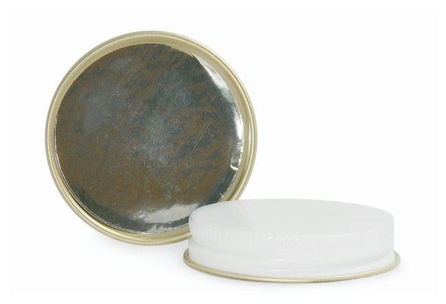 Qorpak™White Metal Pulp/Aluminum Foil Lined Caps