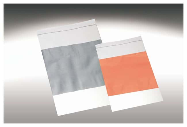 Qorpak 2mil Clear Zip Bags with Write-On Block 2mil; 3 x 4 in. (7.6 x 10.1cm);