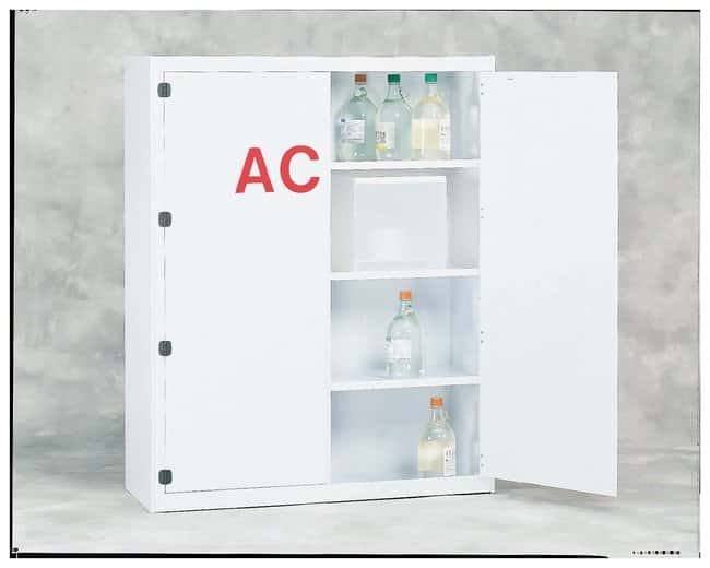 SciMatCo Polypropylene Floor-Mounted Acid Cabinet:Fume Hoods and Safety