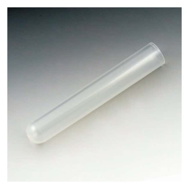 Globe Scientific 12 x 75mm Culture Tubes With dual-position snap cap; Polypropylene;