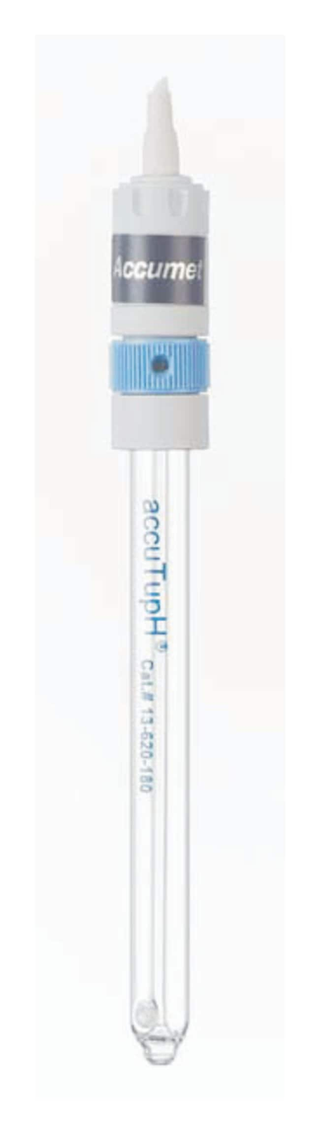 Fisherbrand accuTupH Rugged Bulb pH Combination Electrodes - Mercury-Free:Thermometers,