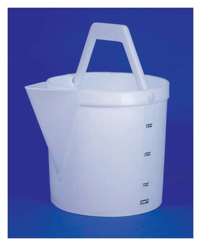 Fisherbrand Heavy-Duty Pail 4 gal.:Wipes, Towels and Cleaning