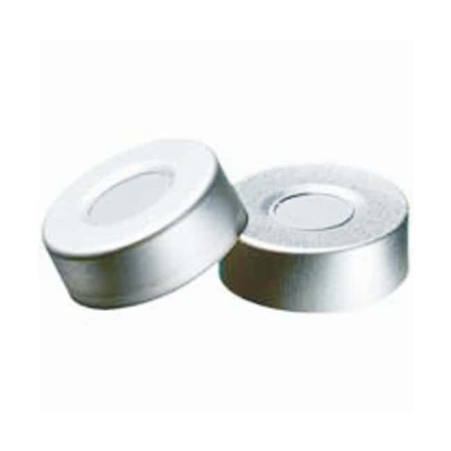 Restek 20mm Aluminum Seals w/Septa, Assembled:Chromatography:Autosampler