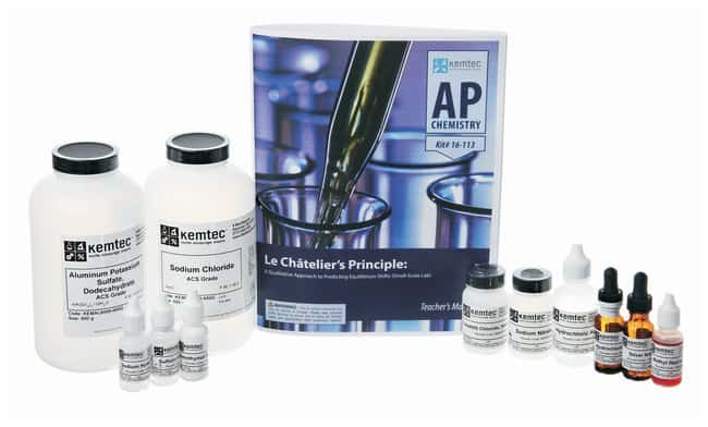 Kemtec&trade; AP&trade; Chemistry Kits: <i>Le Chatelier&apos;s Principle Featuring Ag<sup>+</sup> reaction!</i>&nbsp;<img src=
