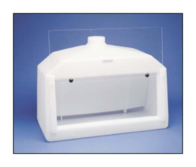 Bel-Art SP Scienceware Molded Fume Hood with Baffle Fume hood; w/Baffle:Fume