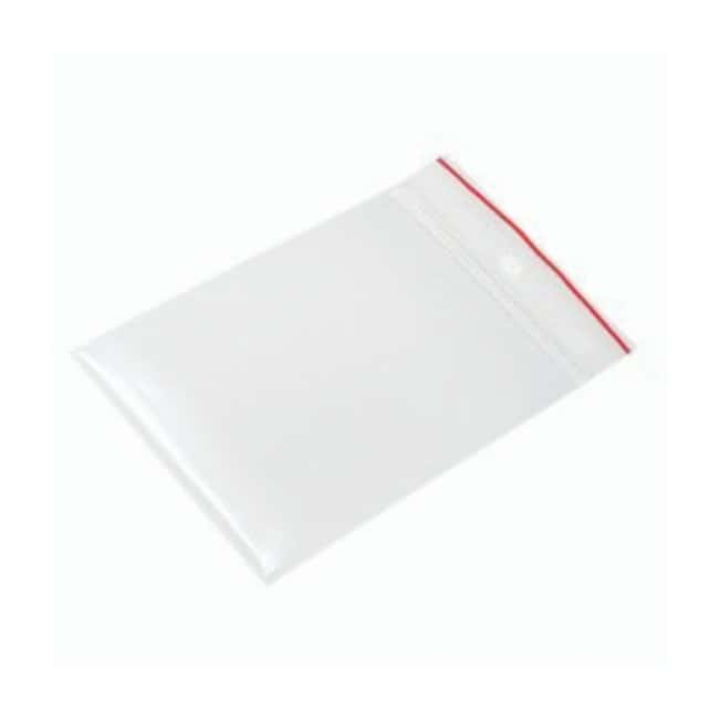Minigrip Red Line Plain Reclosable Zipper Bags Dimension: 3 x 4 in. (7.62