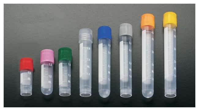 Simport Scientific Sample Tubes with External Threads - Graduated:Test